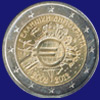 2 € Ελλας 2012 - 10th Anniversary of Euro coins and banknotes