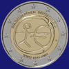 2 € Γερμανια 2009 - 10 years of Economic and Monetary Union (EMU)<br>and the birth of the euro