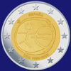2 € Ισπανια 2009 - 10 years of Economic and Monetary Union (EMU)<br>and the birth of the euro