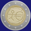 2 € Ιρλανδια 2009 - 10 years of Economic and Monetary Union (EMU)<br>and the birth of the euro
