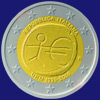 2 € Ιταλια 2009 - 10 years of Economic and Monetary Union (EMU)<br>and the birth of the euro