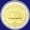 2 € Ισπανια 2007 - 50th Anniversary of the Signature<br>of the Treaty of Rome